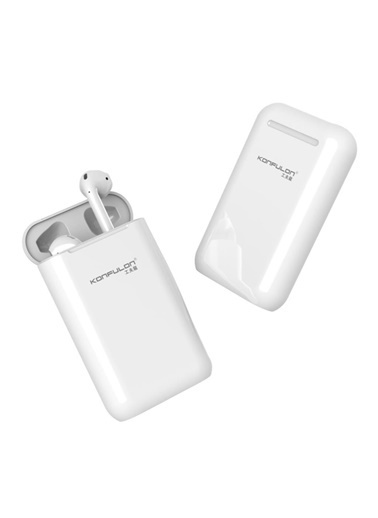 Techmaster Konfulon Bts-08 Tws Bluetooth Kulaklık + 5000 mAh Powerbank Renkli